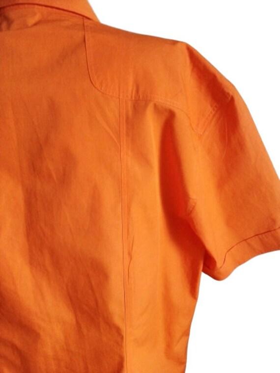Dolce Gabbana mens shirt Button down Summer short… - image 3