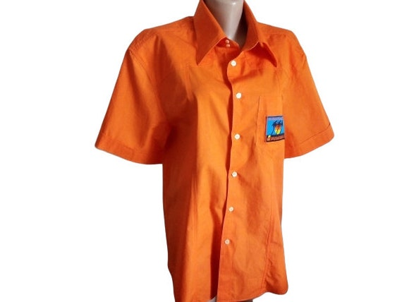 Dolce Gabbana mens shirt Button down Summer short… - image 1