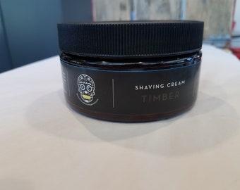 Timber shaving cream. The Kansas City Collection