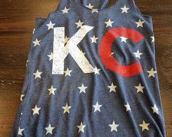 KC stars tank blue