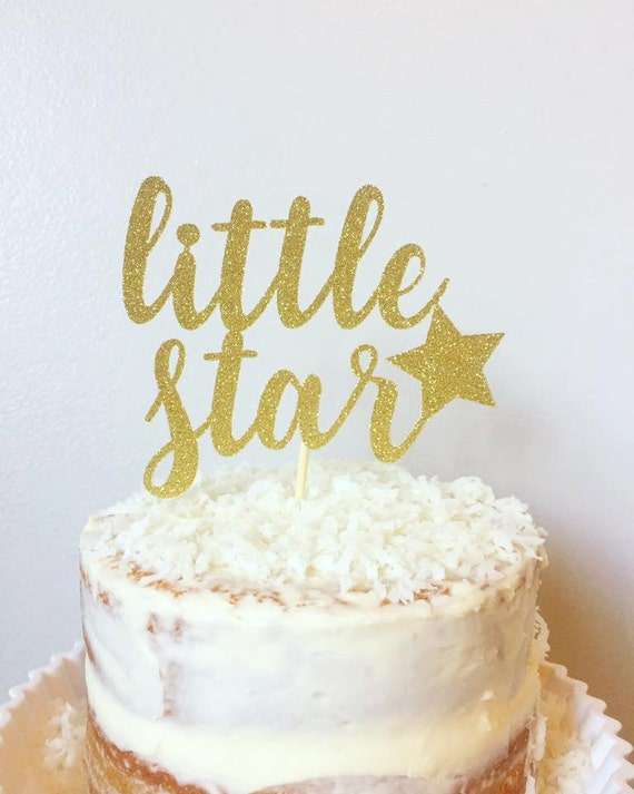 Twinkle Little Star Cake Topper