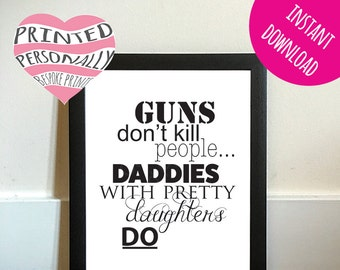 Fathers Day Printable Digital Download DIY Gift