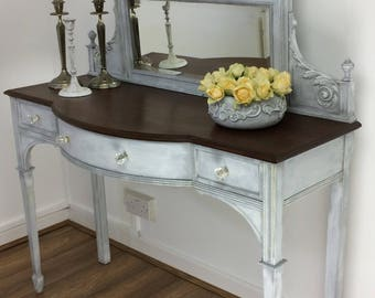 Vintage\ Antique\ Shabby Chic\ Sideboard\ Dressing table