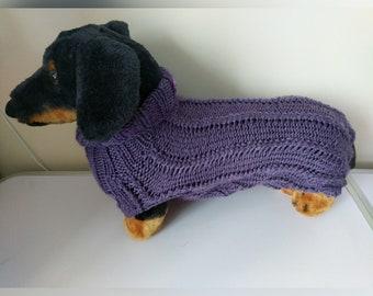 mittlere Hunde Pullover, einen Pullover, Hund, Dackel Pullover, Dackel Mantel, Dackel Kleidung, Dackel Kleidung, Hundebekleidung, Hunde