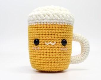 pattern amigurumi beer mug free PDF english-deutsch | 270x340