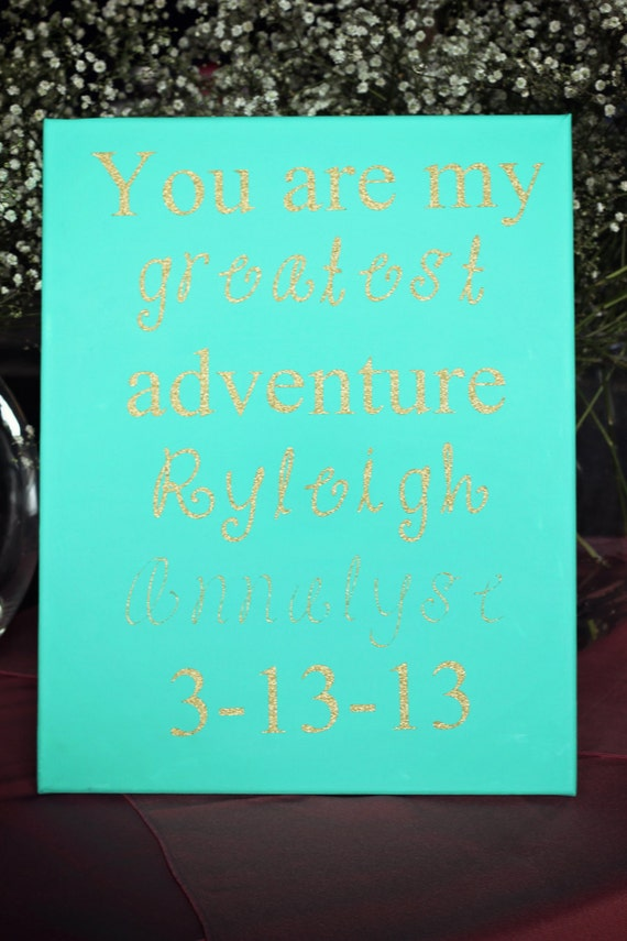 Personalized Canvas / Quotes on Canvas / Custom Canvas Quote / Canvas Art /  Wall Art / Custom Canvas / Quotes on Canvas / Wedding Gift