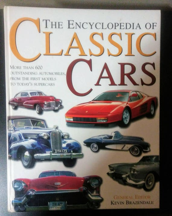 Encyclopedia Of Classic CarsKevin BrazendaleOver Classic Etsy - Classic car guy