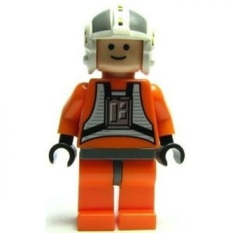 Lego Star Wars Minifigure Wedge Antilles 6212 Free Post