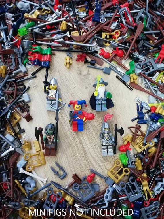 Includes Accessories NINJAGO Themed Minifigure Genuine LEGO® Minifigure