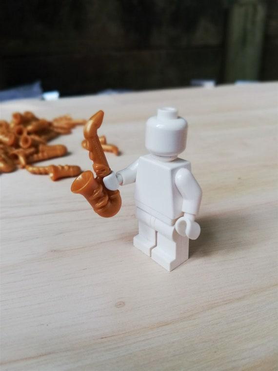 LEGO x1 Minifigure Utensil Saxophone gold sax instrument Jazz Choose Qty!