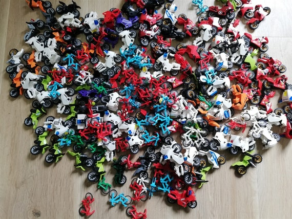 x5 qty Racing Motor Cycle Minifigure vehicle Packs LEGO PARTS