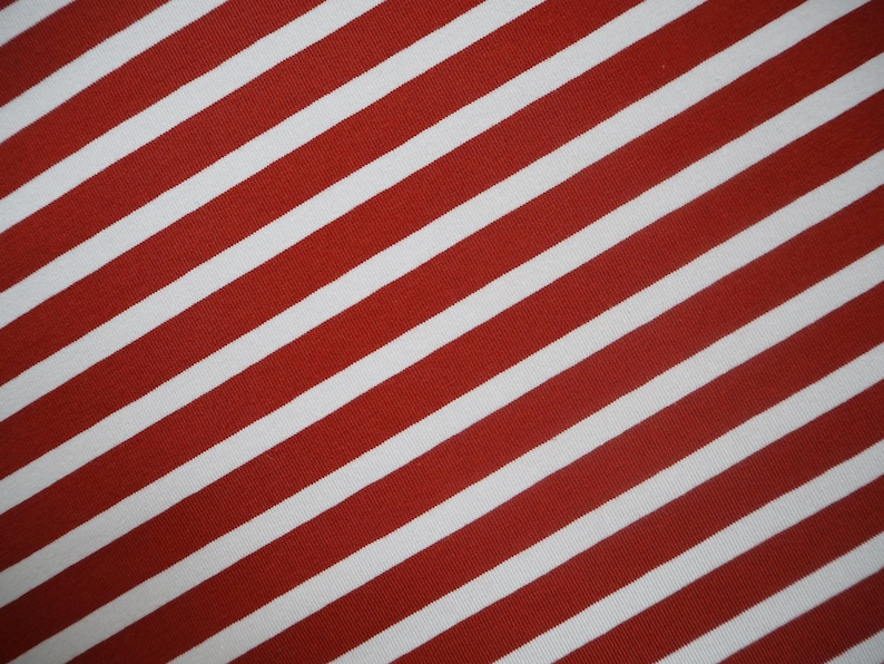 a5f0d5d01ab1 Papu stories cotton jersey fabric christmas xmas candy stripe