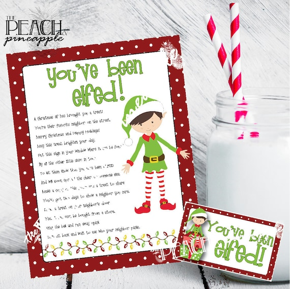 picture regarding You Ve Been Elfed Printable referred to as Youve Been Elfed Indication, Elfed Signal, Xmas Printable, Family vacation Printables, Xmas Doorway Indicator