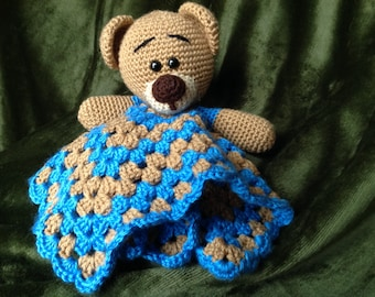 Teddy bear lovey