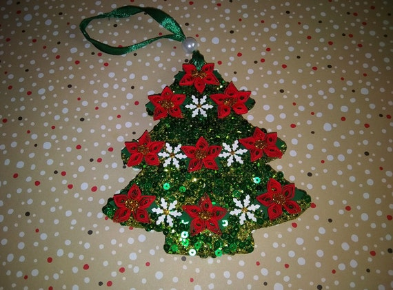 image 0 - Handmade Paper Christmas Decorations