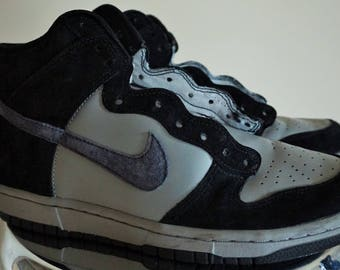 ba0341f55f3f19 Vintage NIKE Boots / Sneakers / Black / Gray / 41 / 8 / Shoes / Old School  / high / Shoes / Sport / Basketball / Casual