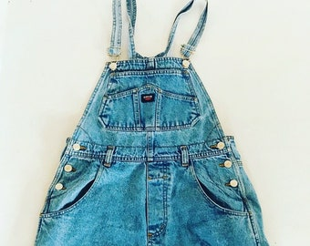 1c92671ddd Vintage Denim Overalls   Medium   M   Onepiece   One Piece   Romper    Jumpsuit   Shorts   Overall   90s   Dungarees   Dungaree