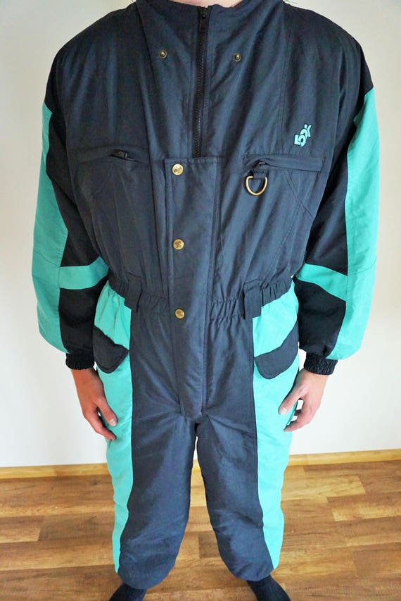 Jacket Ski Large 44 Overall Womens Costume Suit Medium Vintage Skiing Mens Skiing Suit Onepiece Mint One Piece wAIxqgp8
