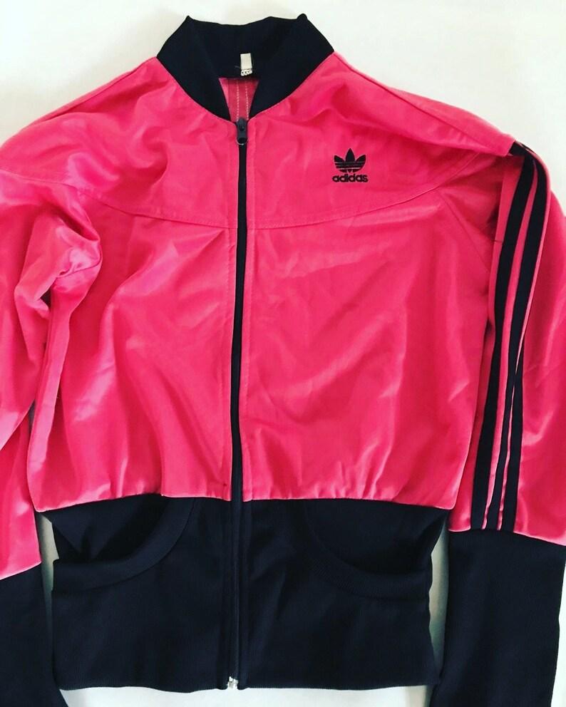 880e54cefd51 Vintage Adidas Trefoil Jacket   Womens   Small   S   Pink