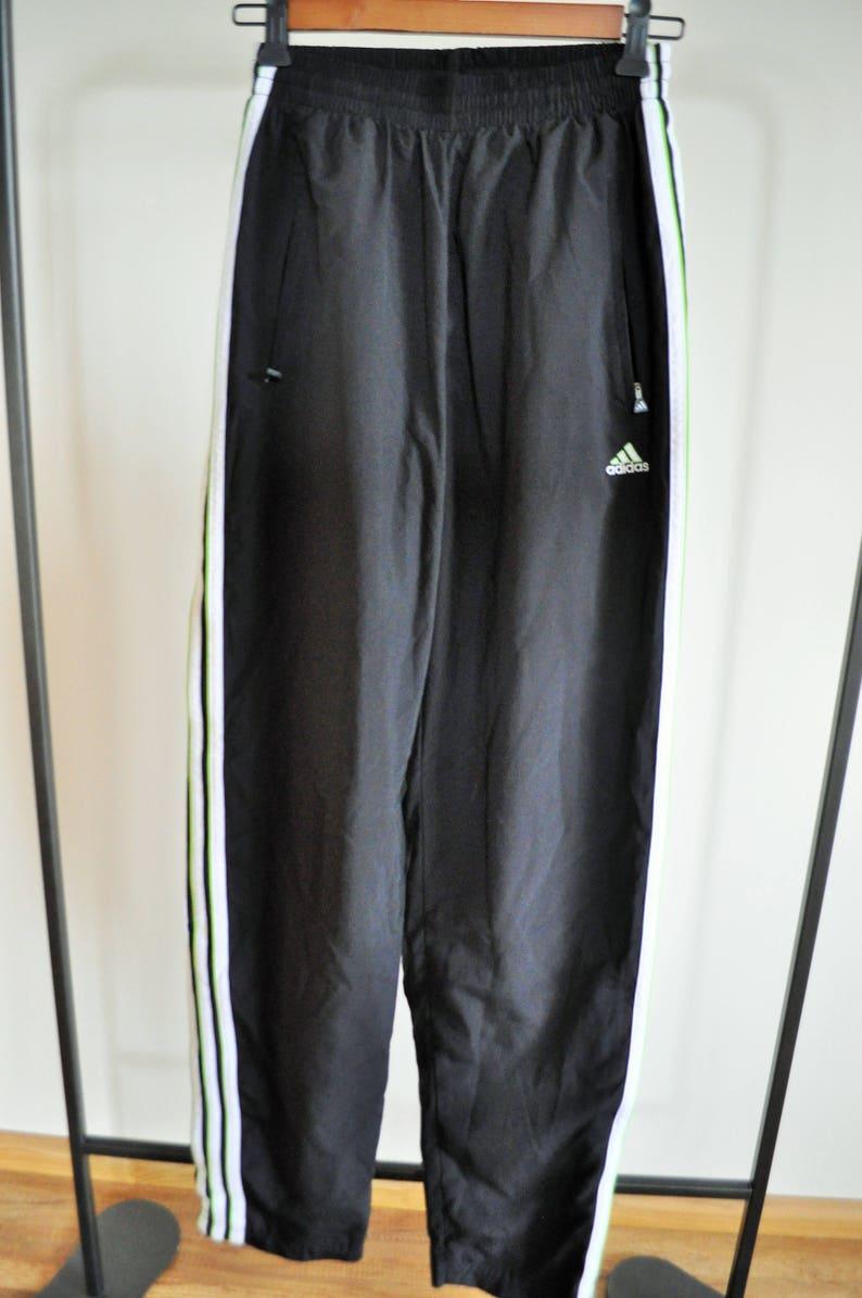 cccf7399c Vintage Adidas Trainers / Sweatpants / Pants / Trousers /   Etsy