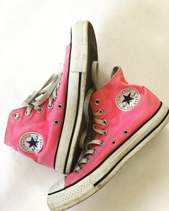 UE bottes rose Vintage hommes baskets femmes Chaussures 5 8 Star All 5 6 39 chaussure Converse haut 5 EEZIw