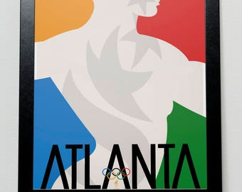 Atlanta Olympic Games 1996 USA Poster