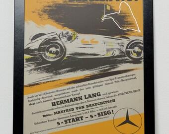 Belgian Grand Prix Poster 1939