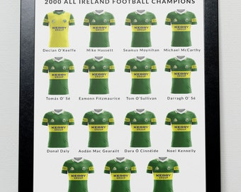 Kerry GAA Greatest Team Poster