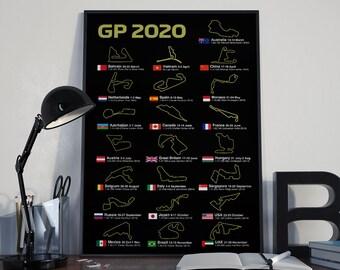2020 Grand Prix Calendar