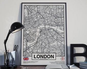 London City England poster - World Cities