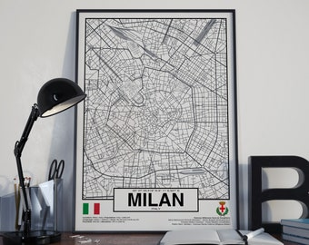 Milan Italy poster - World Cities