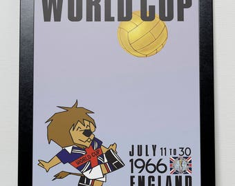 FIFA World Cup England 1966 poster