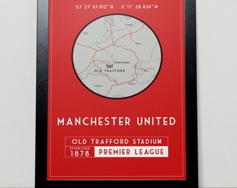 Manchester United GPS Poster