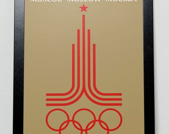 Moscow Olympic Games 1980 Poster