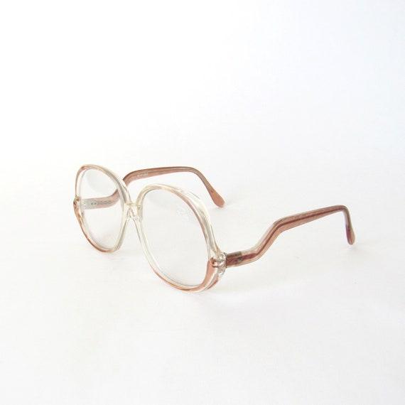 146b536dfbba75 rose et clair chute bras lunettes en plastique rose brunâtre   Etsy