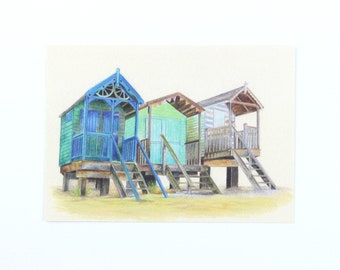 Norfolk beach huts
