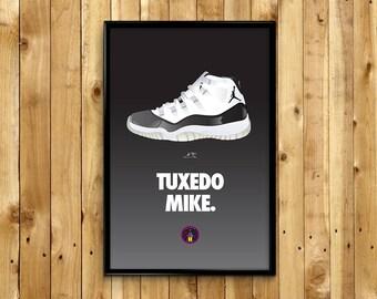 3cccbfb6ba65f6 Air Jordan 11 XI Tuxedo