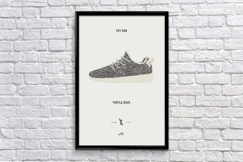 2b0b61f5408cb Yeezy 350 Various Colors - Sneaker Art Illustration