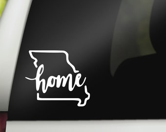 Alabama Home Decal Alabama State Decal State Home Decal State Home Sticker State Home AL Decal Choose YOUR State Alabama Decals, Stickers