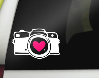 Photographer Decal, Photography Decal, Photography Car Decal, Photography Sticker, Camera Decal, Camera Sticker, Photog Gifts, Photog Decal