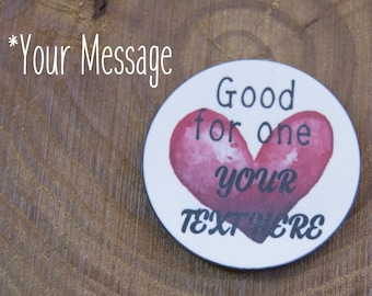 Love Tokens Naughty Love Tokens Custom Love Tokens Valentine's Day Gifts Pocket Token Naughty Gifts Love Coupon Choose Your Wording