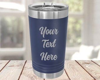 Custom Engraved Insulated Tumbler, Personalized Tumbler