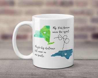 Dad Long Distance Coffee Mug | Coffee Mug for Dad