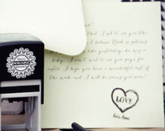 Custom Name Stamp - Personalized Stamp - DIY Stationary - From the Desk Of - Wedding Gift - Mother's Day Gift -  Ready to Ship Gift for Her