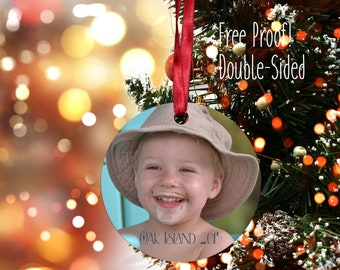 Photo Ornament, Personalized Photo Ornament, Christmas Ornament, Custom Ornament, Design your Own Ornament, Personalized Photo Ornaments