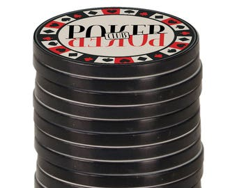 Personalized Poker Chip, Custom Poker Chip, Poker Chips, Custom Poker Chips, Best Man Gift, Wedding, Groomsmen Gift, Photo Poker Chips