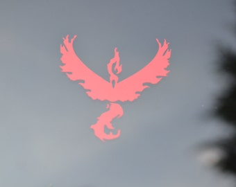 Pokemon Go Decal - Team Valor - Pokemon Go Sticker