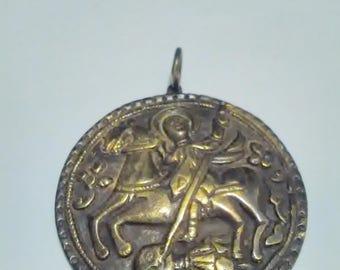 st.Georgi -Medalion -Bronze