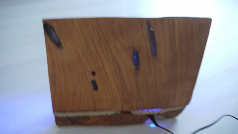 1. Sculpture-Wood-lamp-Multicolor-lamp-Ooak-lamp-Decorative Sjd797af