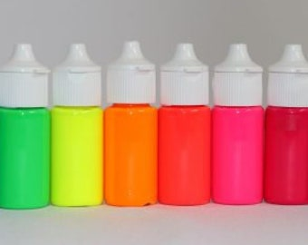 Gel Lumo Glo Paint AND Airbrush Food Color by Rolkem - Glow in the Dark